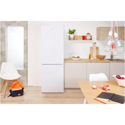 Réfrigérateur Congélateur  pose libre 339 L INDESIT LR8 S1W  NEUF déclassé