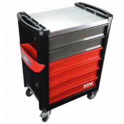 Servante d'atelier 6 tiroirs avec 135 outils SAM SERVI-630N NEUVE déclassée