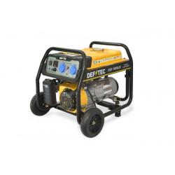 Groupe électrogène mobile à essence de chantier 2500 W DEFITEC DEF 3600LB NEUF