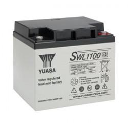 Batterie scellée au plomb à usage industrielle 12 V 39,6 Ah YUASA SWL1100 NEUVE