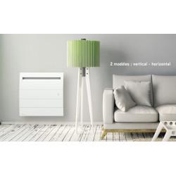 Radiateur électrique chaleur douce à inertie horizontal 2000 W AIRELEC NOVEO...