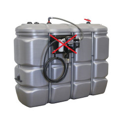 Cuve de stockage à Fioul/Gasoil/Adblue 2000L PEHD DP SODISE 08128 NEUVE...