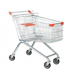 Chariot  - Caddie en fil d'acier Capacité 150 L A015585 NEUF