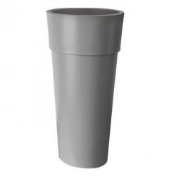 Pot -  Jardinière int/ext en polyéthylène 113 L Diamètre 55 cm gris clair...
