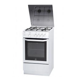 Gazinière Cuisinière  4 foyers Largeur 50 cm INDESIT 15GGC1G NEUVE déclassée