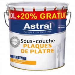 Pot 12 L de peinture professionnelle sous couche pour plaque de plâtre AKZO...