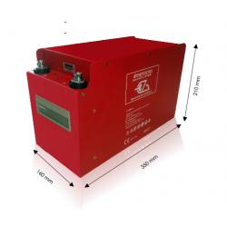 Batterie lithium à décharge lente 100 ah 12.8 V  pour camping car caravane et...