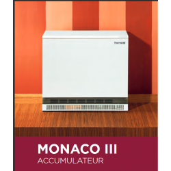 Radiateur à accumulation 3 kW THERMOR MONACO 3 497434  NEUF déclassé