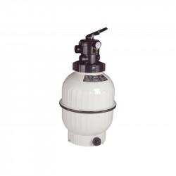 """Filtre à sable de piscine avec vanne 1""""1/2  14 m3/h  D.600 mm ASTALPOOL..."""