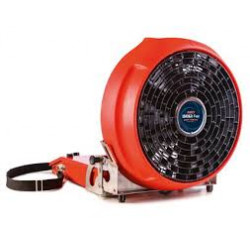 Ventilateur électrique portable sur batterie de lutte incendie - autonomie 20...