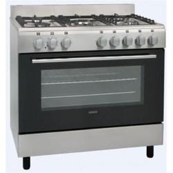 Gazinière Cuisinière piano de cuisson Largeur 60 cm 5 feux gaz SOGELUX...