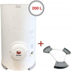 Chauffe-eau électrique 200 L BULEX mono ou triphasé sur socle (stable) E/SD...
