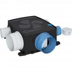 Kit VMC simple flux extra plat autoréglable à détection d'humidité 1000 W...