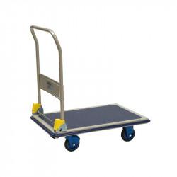 Chariot Plate forme de manutention en acier avec dossier rabatable  MATADOR...
