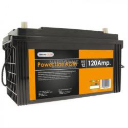 Batterie auxiliaire AGM à décharge lente Grande capacité  12 V 120 Ah pour...