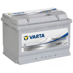 Batterie à décharge lente 12V 75 AH 650 A pour caravane energie solaire VARTA...