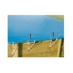 Bâche d'hivernage Bâche de sécurité  pour piscine hors sol octogonale 700 x...