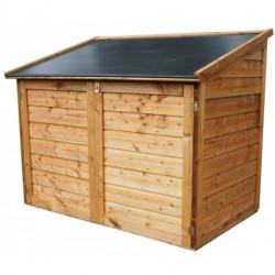 Chalet de jardin Coffre de rangement 1.48 m² 1200 L en bois traité CHALET ET...