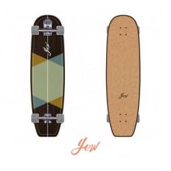 """Longboard  Surf Skate  Longueur 96.5 cm Grip en liège  Byron Bay 38"""" NEUF"""
