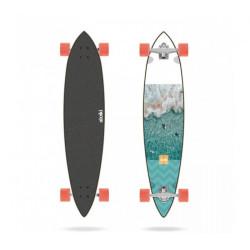 "Skate Surf Longboard Longueur 101.6 cm  LONG ISLAND  Aloiki Aerial 40""..."