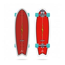"Longboard - Skate Surf Longueur 81.3 cm YOW Pipe 32"" NEUF"