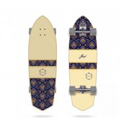 """Longboard - Surf Skate pour débutant Longueur 86.3 cm YOW Padang 34"""" NEUF"""