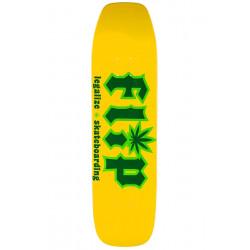 "Planche -  Deck de  skateboard  FLIP HKD Legalize 8.4"" Yellow  FLBL9A07-03 NEUF"