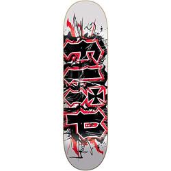 """Planche -  Deck de skateboard FLIP 8"""" HKD Team Scratch FLBL9A04-01  NEUF"""