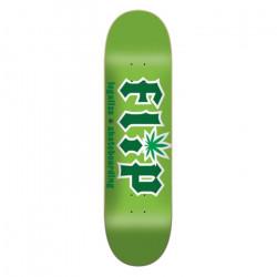 "Planche -  Deck de skateboard  FLIP 8.5""x 32.75"" Legalize Green HKD..."