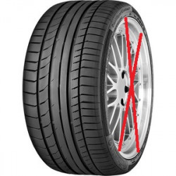 2 pneus 265/50 R 20 XL 111 V  CONTINENTAL Conti SPORTCONTACT 5 SUV  NEUF