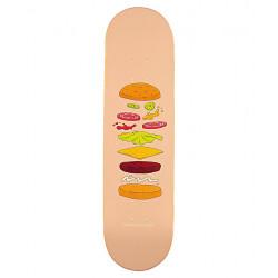 Planche - Deck de skateboard  Expended  Burger  8.125 HABITAT HBBL9A01-05  NEUF