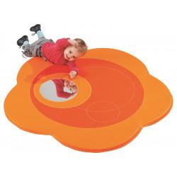 Tapis de sol avec miroir pour enfant Orange  Diamètre 120 cm WESCO NEUF déclassé