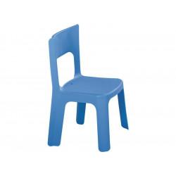 Lot de 5 chaises bleues empilables taille moyenne T1 et T2 hauteur assise...