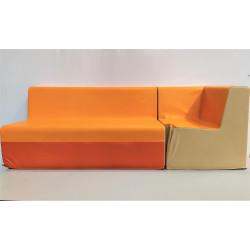 Banquette Canapé WESCO  T1 Hauteur asssise 26 cm  avec fauteuil angle NEUF...