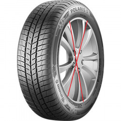 2 pneus 185 / 65 R 15 88 T BARUM POLARIS 5  NEUFS