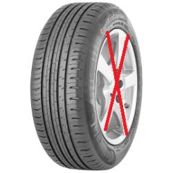 2 pneus 205/55 R 16 91 V CONTINENTAL ContiEcoContact 5 pour berline NEUFS