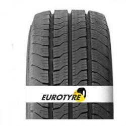 2 pneus 195/70 R15 104/102R EUROTYRE Transwork 2 NEUFS