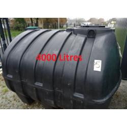 Cuve Fosse à eau 4000 L INH04000 modèle d'exposition (accessoires non...