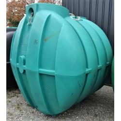 Fosse toutes eaux SIMOP 4000 L INH04000 modèle d'exposition (accessoires non...