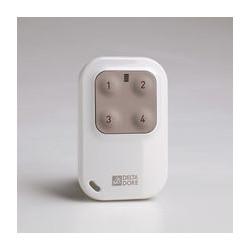 Télécommande 4 voies DELTA DORE Tyxia 1410 pour automatismes et éclairages...