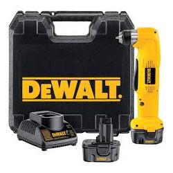 Perceuse d'angle sans fil  DEWALT 12 V DW965K 2 vitesses avec batterie  NiCd...