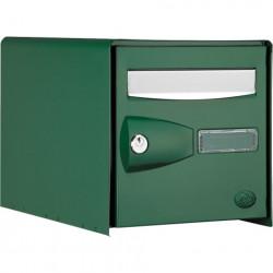 Boite aux lettres DECAYEUX PROBOX 1 porte verte - 123221 - NEUVE