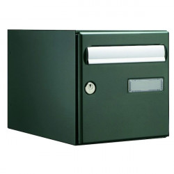 Boite aux lettres DECAYEUX Novacio Box Double face verte 125223 - NEUVE