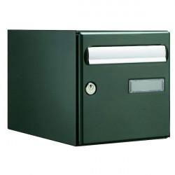 Boite aux lettres DECAYEUX Novacio Box Double face verte 125223 NEUVE