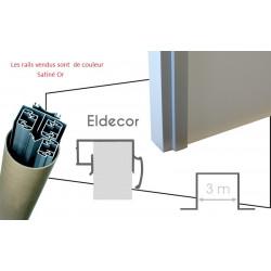 Pack pratique rails PLACARDECOR Eldecor 3 vantaux pour placard à porte...