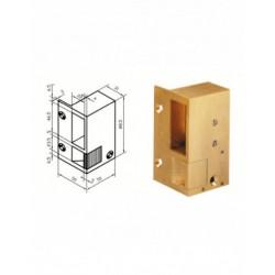 Gâche électrique METALUX BEUGNOT bronze N1 GP STD 12V 101410 NEUVE