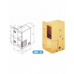 Gâche électrique METALUX BEUGNOT bronze N0 DT STD 12V 100110 NEUVE