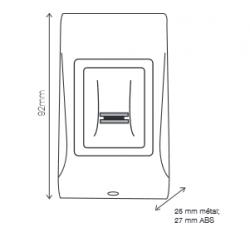 Kit lecteur biométrique autonome XPR  B100B-SA-KIT pour 1 porte NEUF
