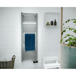 Sèche serviette électrique SAUTER 750 W Goreli Digital Gris Perle 240055 NEUF
