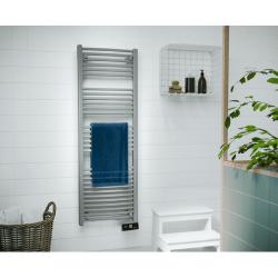 Sèche serviette électrique SAUTER 500 W Gorelli Digital Gris Perle 240054 NEUF